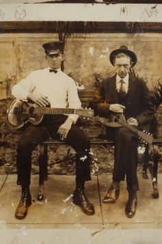 Clarence Jackson Bunch (left)