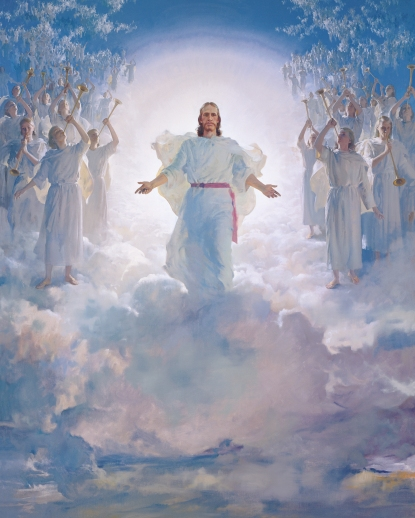Christ in Clouds