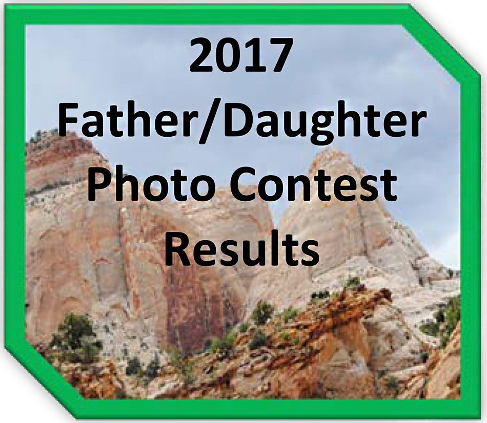 2017 Father/Daughter Photo Contest Results
